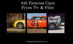 100 Famous Cars fro TV and Film www.gadgetshowprizes.co.uk