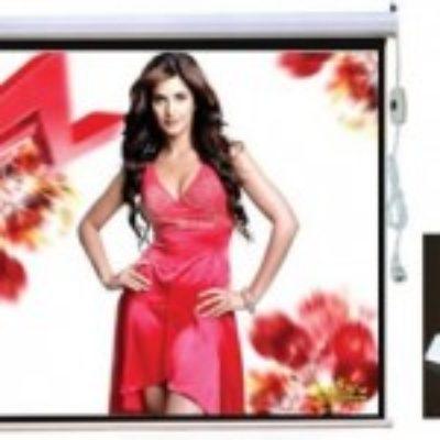 HD Projector Screen 169 Widescreen ,Electric Motorised