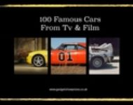 Detailed Pages of 100 Cars and Vehicles made Famous from The Movies and TV