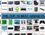 Lists of The Top 10 Most Popular Gadgets From amazon.co.uk