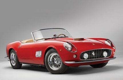 Ferris Bueller's Day Off ( Ferrari 250 GT California Spyder ) 1961
