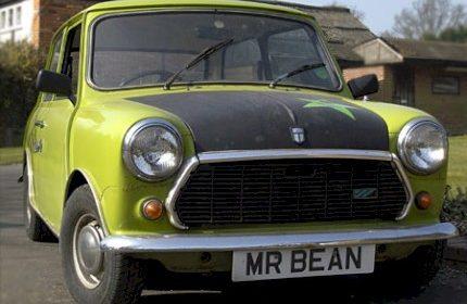 Mr Bean ( British Leyland Mini 1000 )  1976