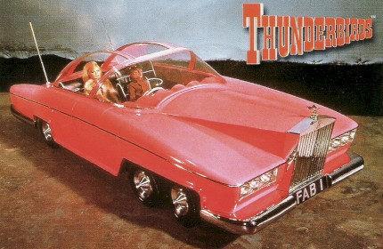 Thunderbirds ( Ford Thunderbird FAB-1 ) 1964