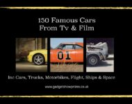 Detailed Pages of 150 Cars, Vehicles, Planes Boats and Bikes made Famous from The Movies and TV