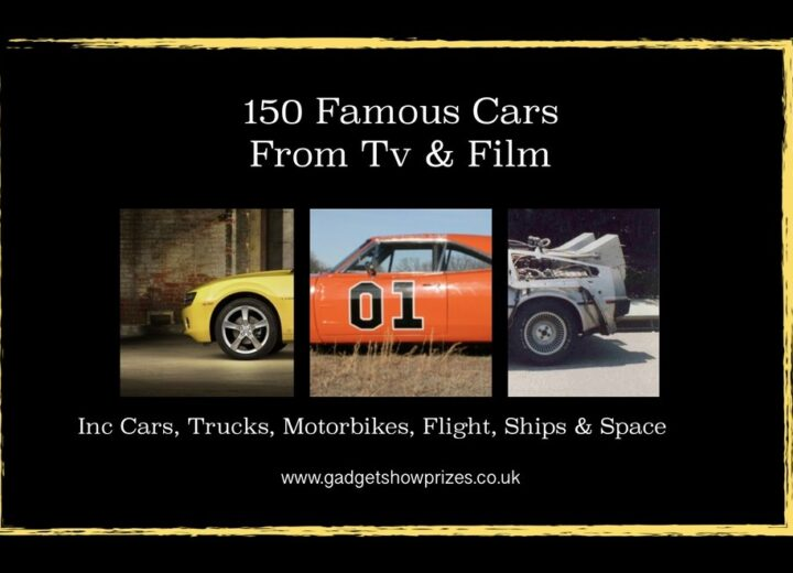 NEW 150 Pages of Famous Cars from Films and the TV, + Games and a Quiz