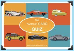 150 Famous Cars ( Quiz )