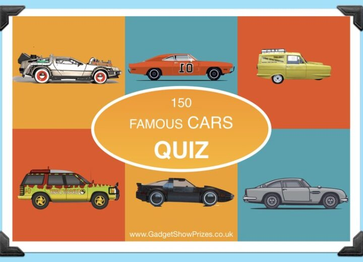 Quiz Questions Taken From Famous Cars From Film , TV
