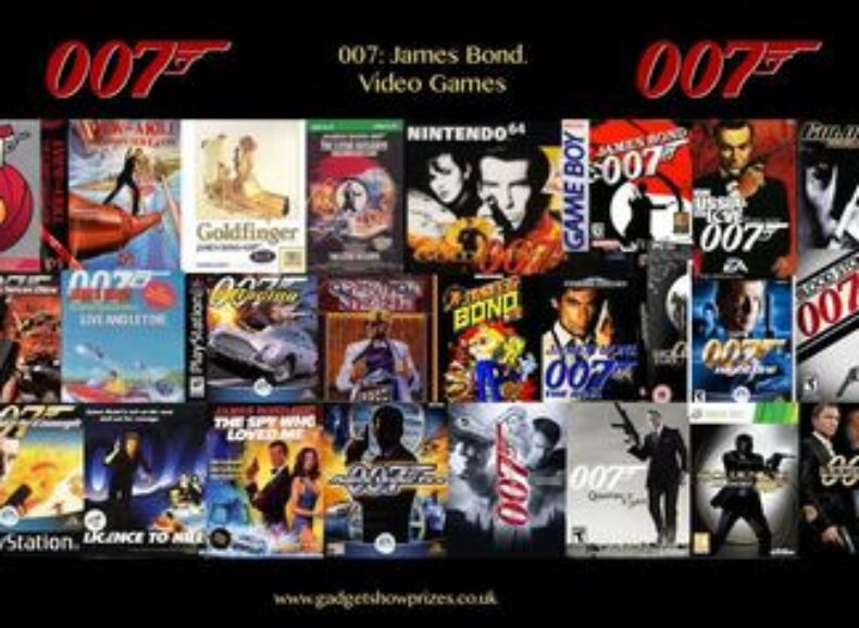 A Detailed History of ALL 007 James Bond Video Games